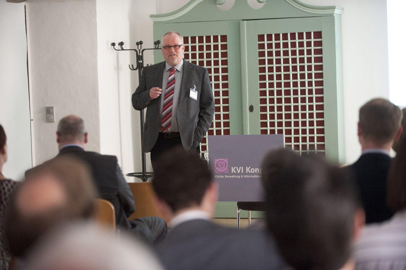 Vortrag über Verwaltungssoftware von Jan-Gerd Jensch, Geschäftsführer Kisocon